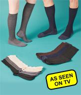 3 Pair 35 Below Dress Socks - Women's