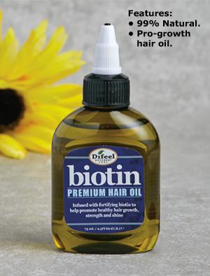 Biotin Pro-Growth Hair Oil - 2.5-fl oz.