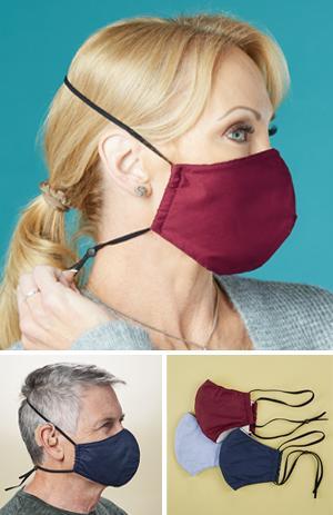 Reusable Comfort Masks - Set of 3