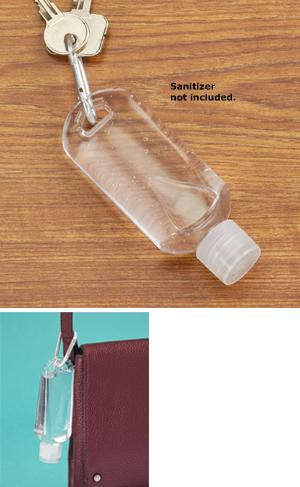 Hand Sanitizer Bottle with Clip