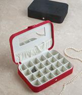 Classic Jewelry Case with Dividers