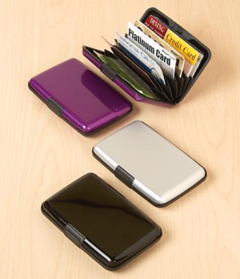 Aluminum Security Wallet - Each