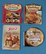 Holiday Cookbooks - Set of 4
