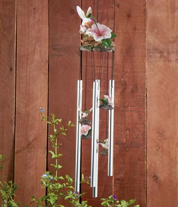 Sweet Sound Hummingbird Wind Chime