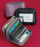 Black Buxton RFID Wallet