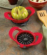Thin Apple Slicer with Hinged Cover