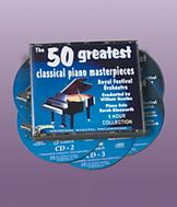 50 Piano Masterpieces - 5-CD Set