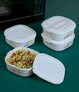 Store and Carry Microwave Set