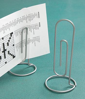 Paper Clip Memo Holder