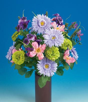 Realistic Spring Garden Bouquet
