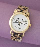Cat Face Watch