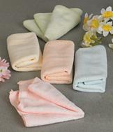 Microfiber Pastel Washcloths - Set of 5