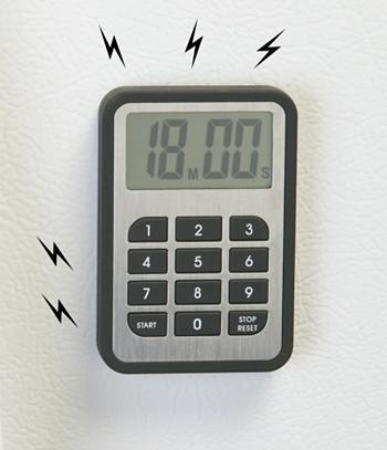magnetic digital kitchen timer gadgets utensils kitchen signatures. Black Bedroom Furniture Sets. Home Design Ideas
