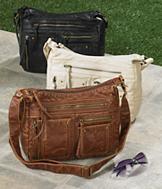 Vintage-Style Crossbody Bag - Each