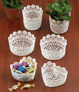 Doily Bowls - Set of 2