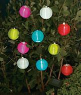 Solar Garden Lanterns - Set of 10