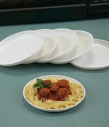 Microwave Plates - Set of 6
