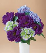 Everlasting Peony and Hydrangea Bouquet