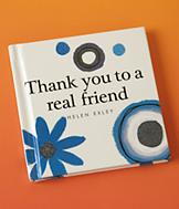 Thank You to a Real Friend Book