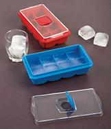 No-Spill Jumbo Ice Cube Tray - Each