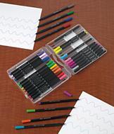 Fine-Line Markers - Set of 30