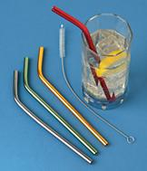 Aluminum Straws - Set of 4