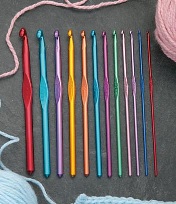 Crochet Hooks - Set of 12