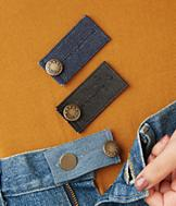 Jeans Button Extenders - Set of 3