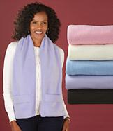 Plush Wrap with Pockets - Each