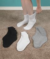 Loose-Top Ankle Socks - 3 Pairs