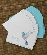 Hummingbird Thank-You Notes - Set of 14