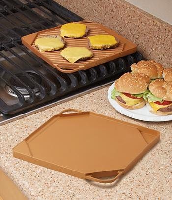 Copper Griddle/Grill Pan