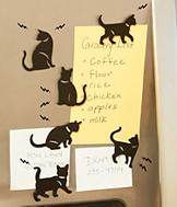 Cat Magnets - Set of 6