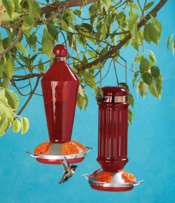 Hummingbird Feeders - Set of 2