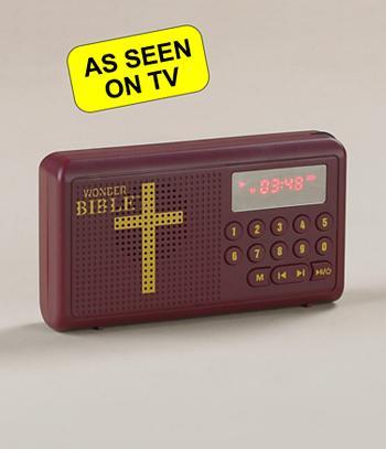 Wonder Bible Portable Audio Player