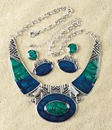 Ocean Wave Jewelry Set