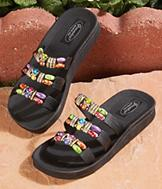 Beaded Sandals - Size 6