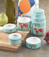 Farm Animals Measuring Cups - Set of 4