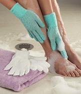 Exfoliating Gloves - 2 Pairs