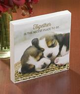 Together is the Nicest Place to Be Plaque