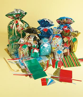 Holiday Gift Bags - Set of 31