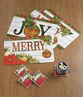 Festive Joy Placemats - Set of 4