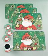 Santa Placemats - Set of 4