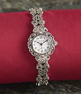 Sarah Coventry Ladies Marcasite Watch
