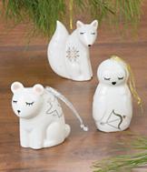 Winter Fox Ornament