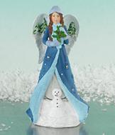 Winter Wonder-full Love Angel Figurine