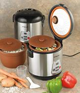 2-in-1 Slow Cooker and Rice Maker
