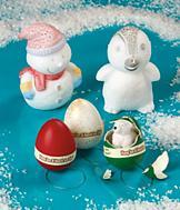 Hatch 'Em Egg Ornaments - Set of 3