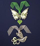 Glow-in-the-Dark Ornament - Dove
