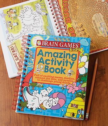 Brain Games Kids Amazing Activity Book